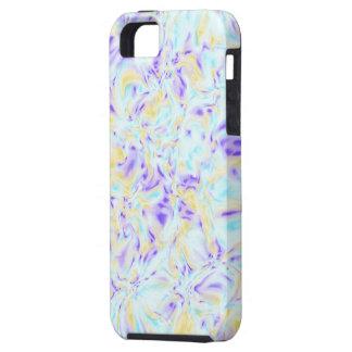 Disiga pastellfärgade Fractals - konstfodral för i iPhone 5 Fodraler