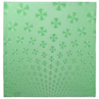 Disketter på Mintgröntservetter Tygservett