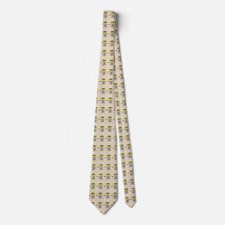 Diskettgolfbasketen all över nacketie slips
