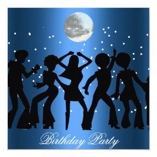 Disko70-talfödelsedagsfest inbjudan