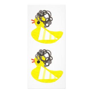Disko Ducky Rackcards Personliga Rack Kort