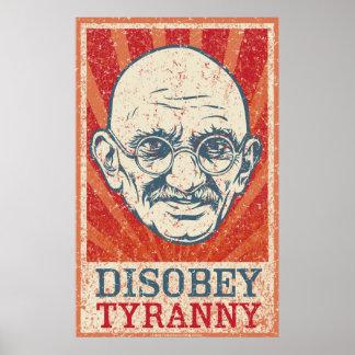 Disobey Tyrannyaffischen Poster