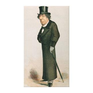 Disraeli Benjamin Canvastryck