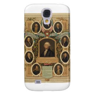 Distingerade Masons av amerikanrevolutionen Galaxy S4 Fodral