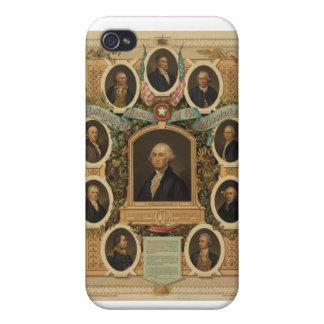 Distingerade Masons av amerikanrevolutionen iPhone 4 Fodral