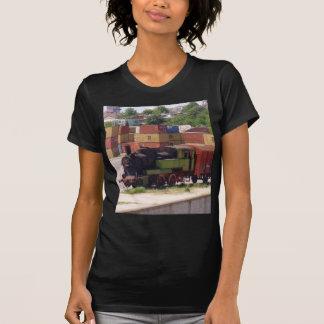 Disused ångatåg t-shirts