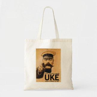 Ditt land behöver UKE! Budget Tygkasse
