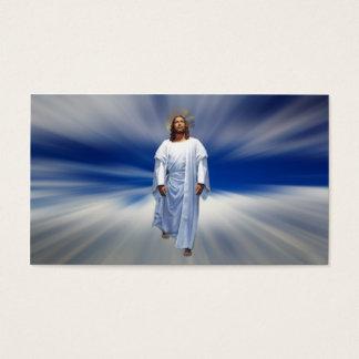 Ditt vägleda på huvudvägen till himmel visitkort