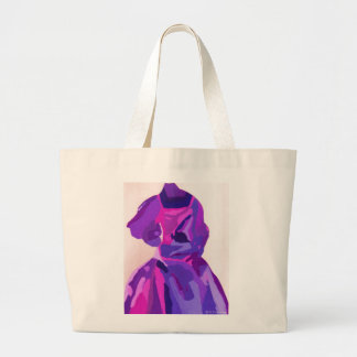 Diva Fashionista In Blue Canvas Bag