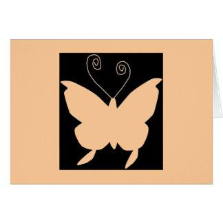Divafjäril Hälsningskort