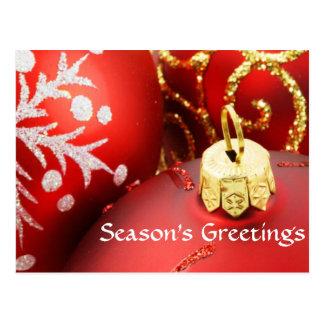 Divas säsong vykort för hälsningar