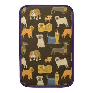 Diverse hundtapet MacBook sleeve