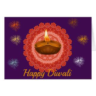 Diwali Deepawali Hälsningskort