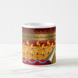 Diwali mugg, lyckliga Diwali Kaffemugg