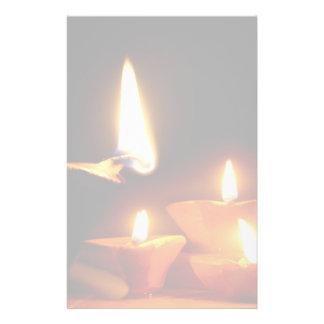 Diwali tänder brevpapper