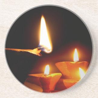 Diwali tänder underlägg