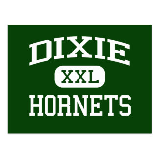 Dixie - bålgetingar - kick - rakt västra South Vykort