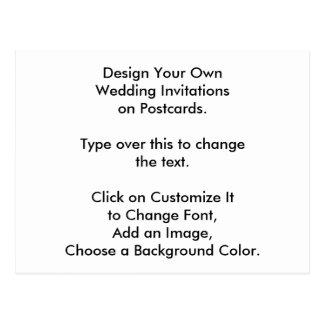 DIY-design din egna bröllopsinbjudningar på vykort