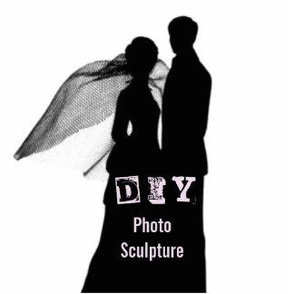 DIY - Fotoskulptur Stående Fotoskulptur