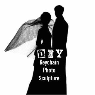 DIY - Keychain fotoskulptur Fotoskulptur Nyckelring