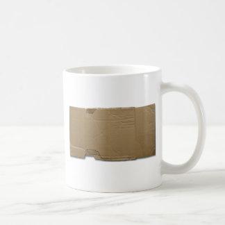 DIY-papp undertecknar Kaffemugg