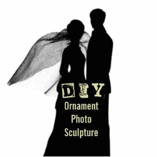 DIY - Prydnadfotoskulptur Fotoskulptur Julgransdekoration