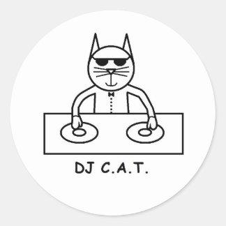 DJ C.A.T. Klistermärke