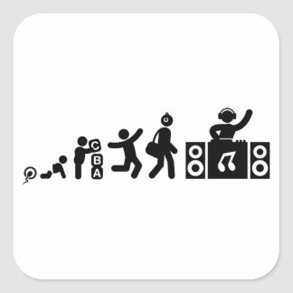 DJ FYRKANTIGT KLISTERMÄRKE