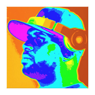 DJ Kolor Canvastryck
