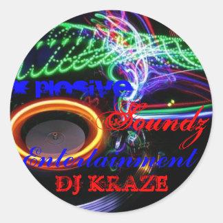 DJ KRAZE RUNT KLISTERMÄRKE