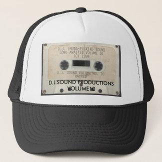 DJ låter - hat för Vol 10, D.J.SOUND-PRODUKTIONER… Truckerkeps
