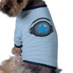 dj-ricoroxjord med hörlurar djur shirt