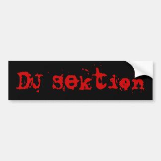 DJ Sektion Bildekal