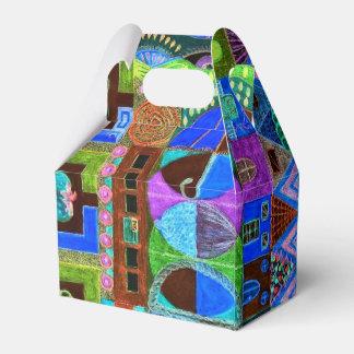 Djärv & färgrik mosaik av Shapar Presentaskar