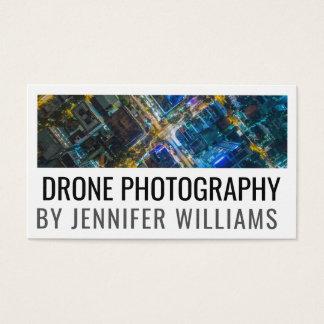 Djärv flyg- surrfotografi visitkort