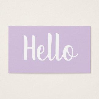Djärva pastellfärgade visitkortar för moderiktig visitkort