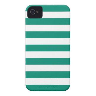 Djärvt fodral för iPhone 4s för randsmaragdgrönt iPhone 4 Case-Mate Skydd