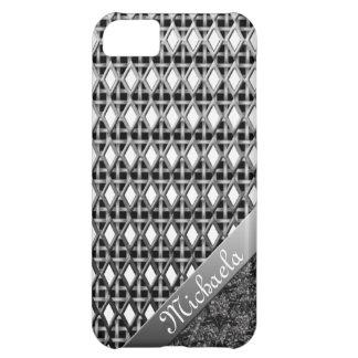 Djärvt & härligt metalliskt fodral iPhone5 iPhone 5C Fodral
