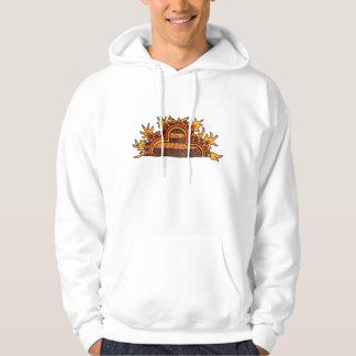 Djärvt Pre-Columbian Sweatshirt Med Luva