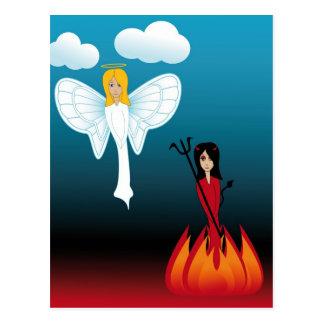 Djävulen 6 vykort
