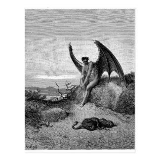 Djävulen, Gustave Dore Vykort
