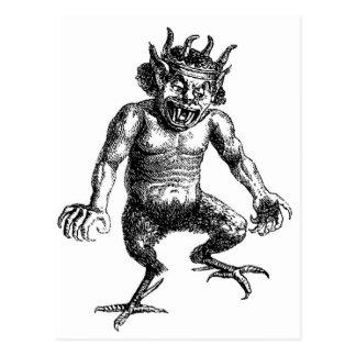 Djävulen Vykort