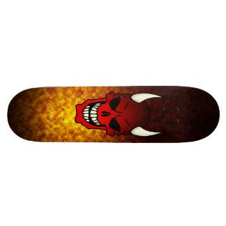 Djävulendöskalle skateboard