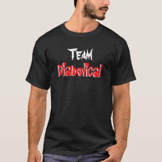 Djävulskt lag - mörk t-shirt