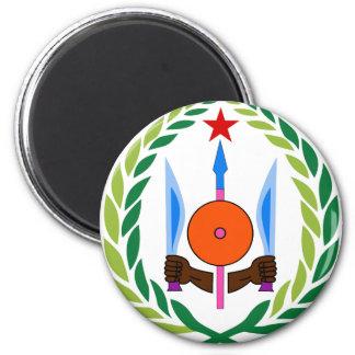 djibouti emblem magnet