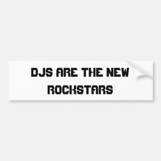 DJs är den nya Rockstars bildekalet Bildekal