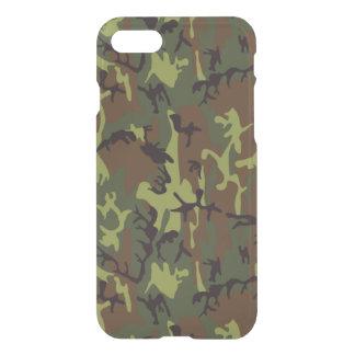Djungel gröna Camo iPhone 7 Skal