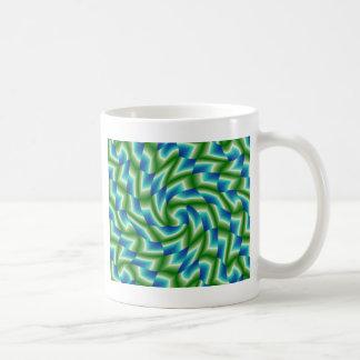 Djungel vid havet kaffemugg