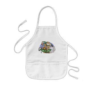 Djungelpojke Barnförkläde