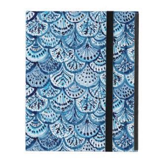 DJUP vattenfärg för kammussla för sjöjungfru för iPad Skydd